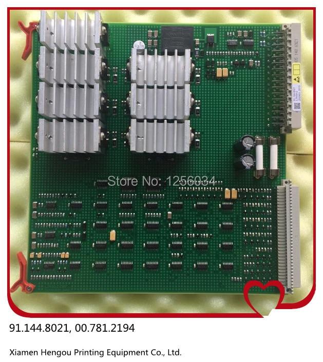 2 pieces hot sale 12 months warranty heidelberg printing card LTK50 91.144.8021/01A, 00.781.2194, 91.144.8021/03