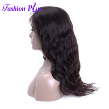 Full Lace Human Hair Wigs With Baby Hair 10-28''Pre Plucked With Baby Hair 180% Density 100% Human Hair Wigs For Black Women(China)