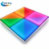 16Sqare meters/lot 1M*1M Led Dance Floor led lighting wedding floor DMX 512 RGB Full Color Acrylic Plexiglass Dance Panel