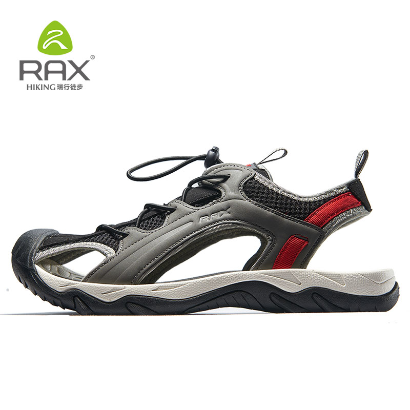 Rax Men Hiking Sandals Breathable Trekking Shoes Men Women Outdoor Shoes Mesh Aqua Sport Sandals Sneaker Men Hiking Sandals