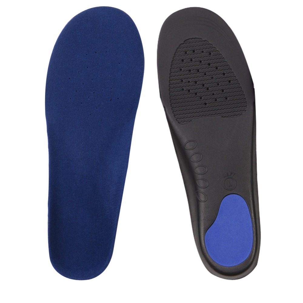 36-49 Yards Hot Selling 1 Pair Unisex  New Shoes Arch Support Cushion Feet Care Insert Orthopedic Flat Foot Insole Shoe Pad EVA 2017 spring and autumn hot selling women s comfortable diabetic shoes foot swollen foot care shoe breathable flat bunion shoes