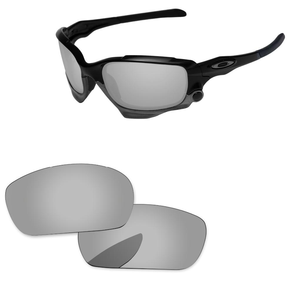 ff14606233 Cromo espejo de plata polarizadas lentes para Jawbone gafas de sol marco  100% UVA y UVB protección