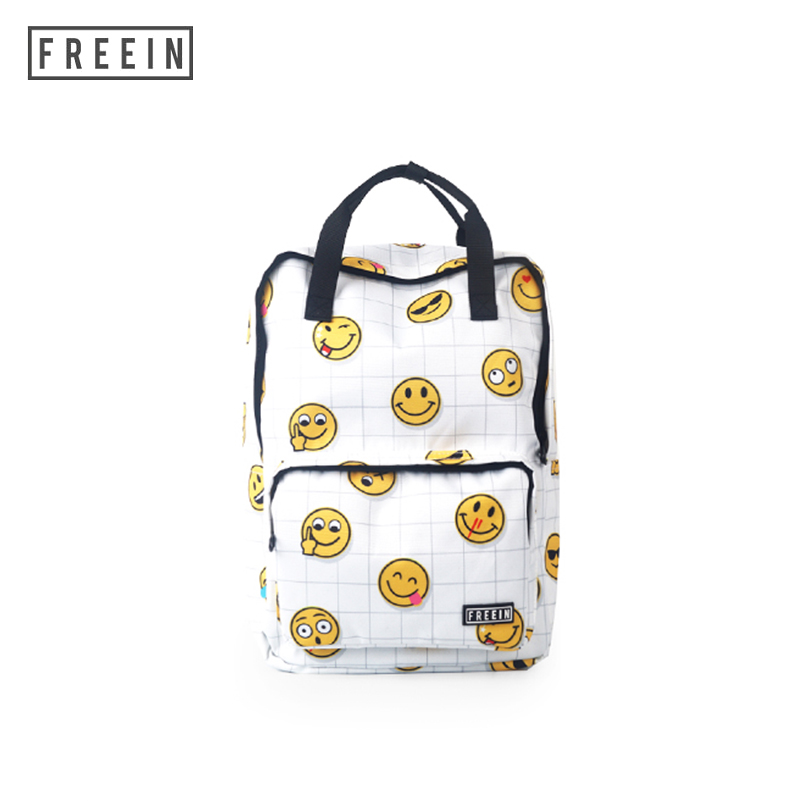 Backpack Women Laptop Waterproof Smile Style Notebook Back pack Large Travel School Bags Men for Teenage Girls Back pack Bags цена
