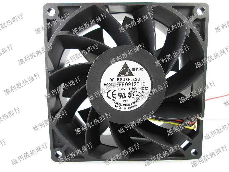 Free Delivery.12V 1.50A 9cm Chassis Power Motorcycle Car Refurbished Supercharged Violence Fan 9CM free delivery 9025 9 cm 12 v 0 7 a computer cpu fan da09025t12u chassis big wind pwm four needle