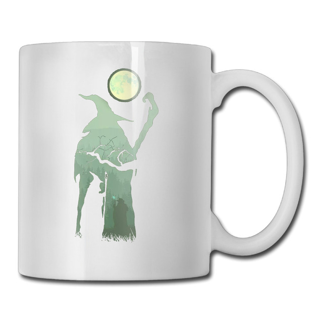 Under The Moon Lord Of The Rings coffee mug