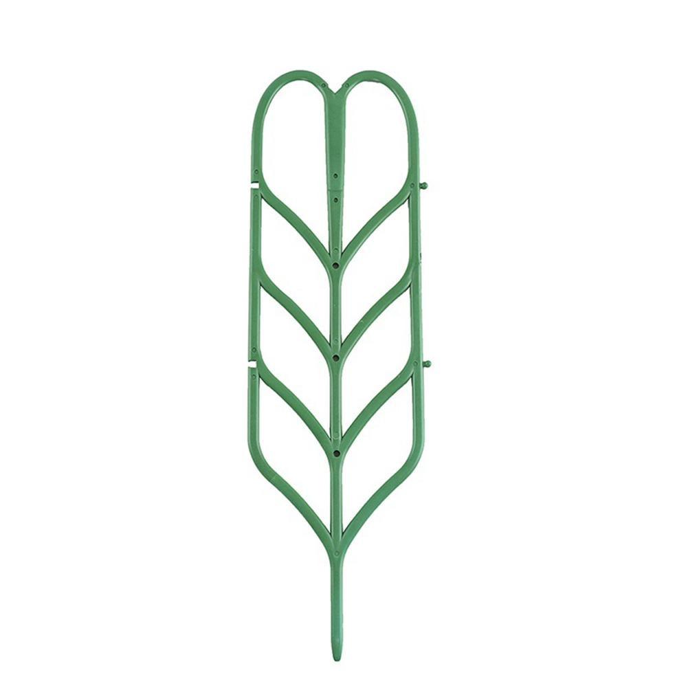 6 X CLIP ON PLASTIC PLANT POT  TRELLIS SUPPORT FOR CLIMBING PLANTS