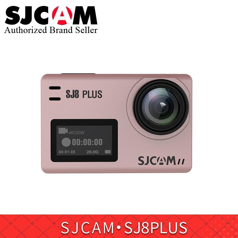 SJCAM SJ8 série SJ8 plus caméra d'action wifi 12MP écran tactile télécommande pro yi sport étanche DV cam pk h9r yi 4 k camer