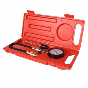 Image 3 - Car Cylinder Pressure Tester 0~300 Psi Cylinder Pressure Tester G324   Gasoline Engine Compression Gauge Kit for Cars SUVs RVs