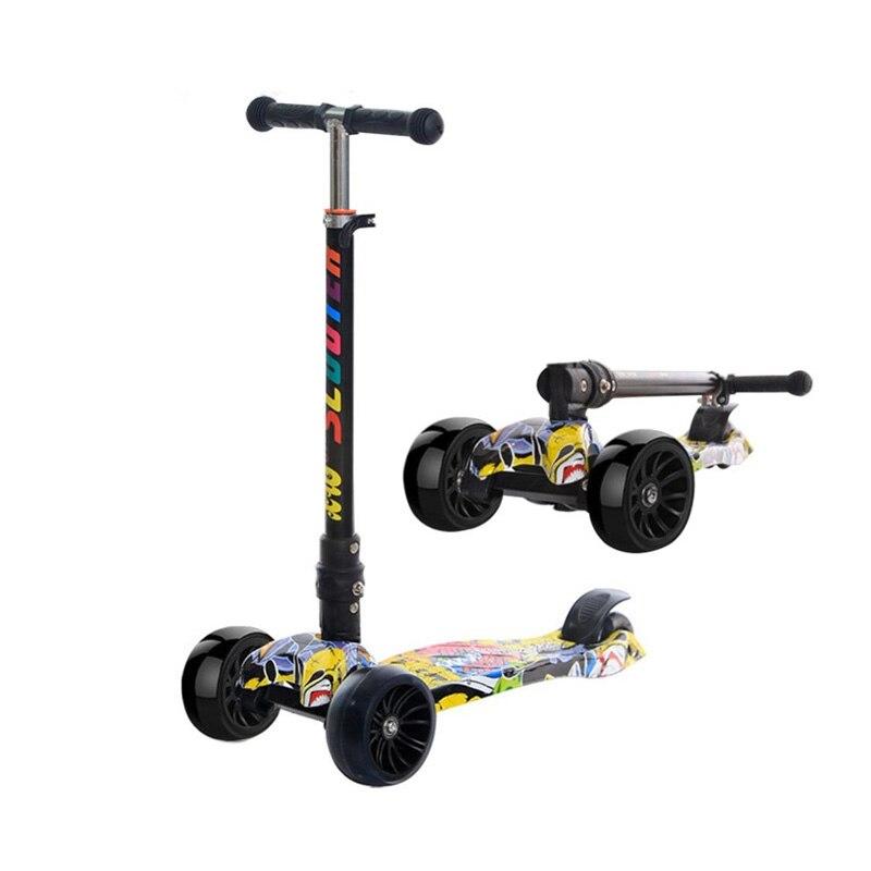 Vélos Scooter Cadeau pour enfants Exercice Amusant Jouets Scooter Enfants Kick Scooter