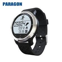 PARAGON Wasserdichte Smartwatch Smart uhr F69 pulsuhr Am Handgelenk band Schwimmen Kalorien berechnung Schrittzähler F69 MOTO360