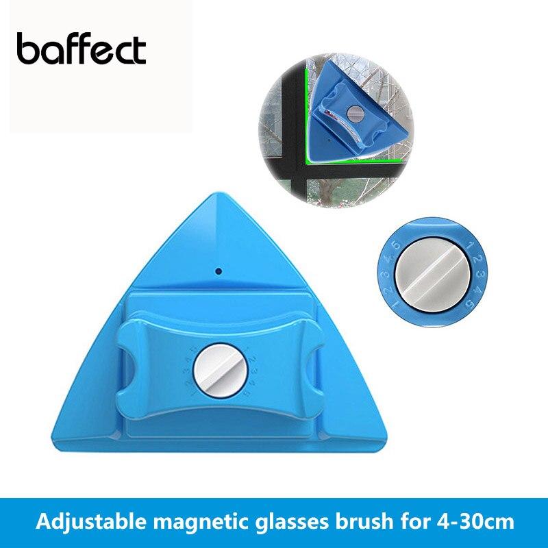 Novo Limpador de Vidro Janela Escova De Limpeza Ímãs Superfície Ajustável Ferramentas de Escova de Limpador de Janelas Magnético para Single/Duplo Óculos