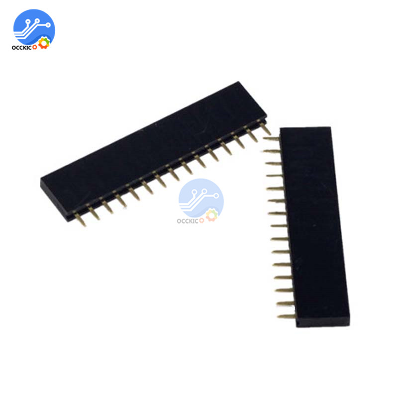 40 Pin Male Header Pins Strip PCB 254mm for Arduino Breadboard SIL
