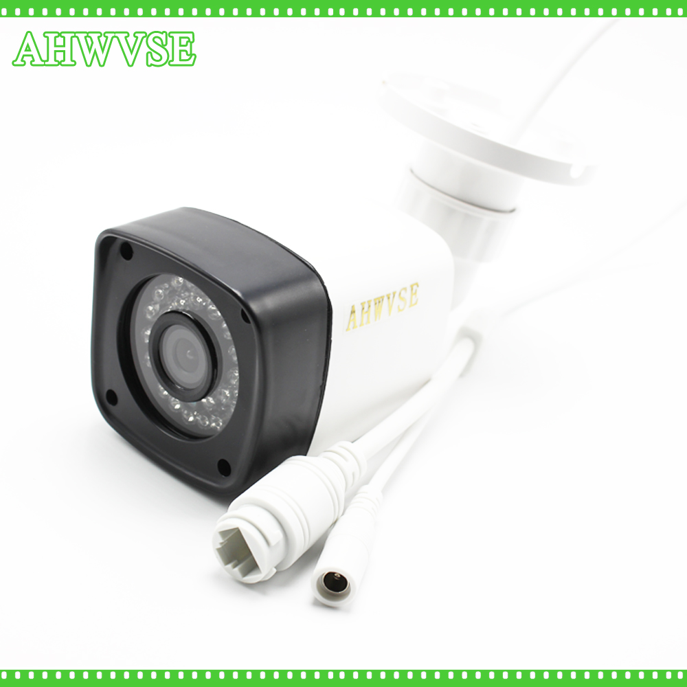 AHWVSE 1.0MP 2MP Bullet 720P IP Camera 1080P Outdoor IR 20m IRCUT HD Security Waterproof Night Vision P2P CCTV IP Cam ONVIF escam 720p hd p2p ip cam bullet outdoor security cctv onvif waterproof camera night vision ir cut filter megapixel 3 6mm lens