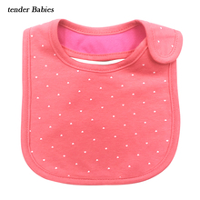 Cotton Newborn Bibs Burp Cloths Baby Bibs Bandana Kids Baberos carter Baby Bebes Girls Boys Bib Clothing Feeding Saliva Towels(China)