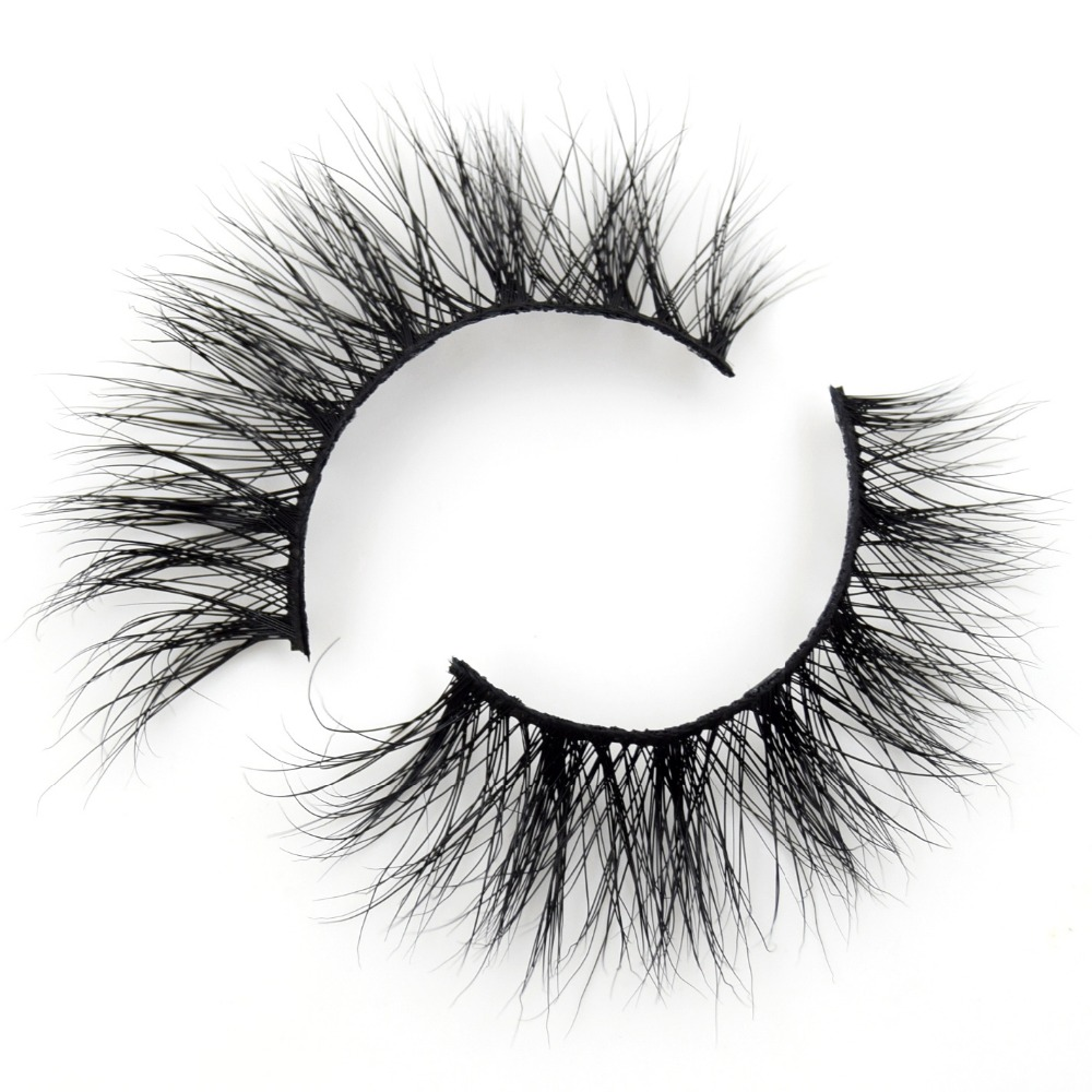 Visofree Eyelashes 3D Mink Lashes Makeup Handmade Full Strip Mink Eyelashes Soft Fluffy Eyelashes Full Volume False Eyelash E01