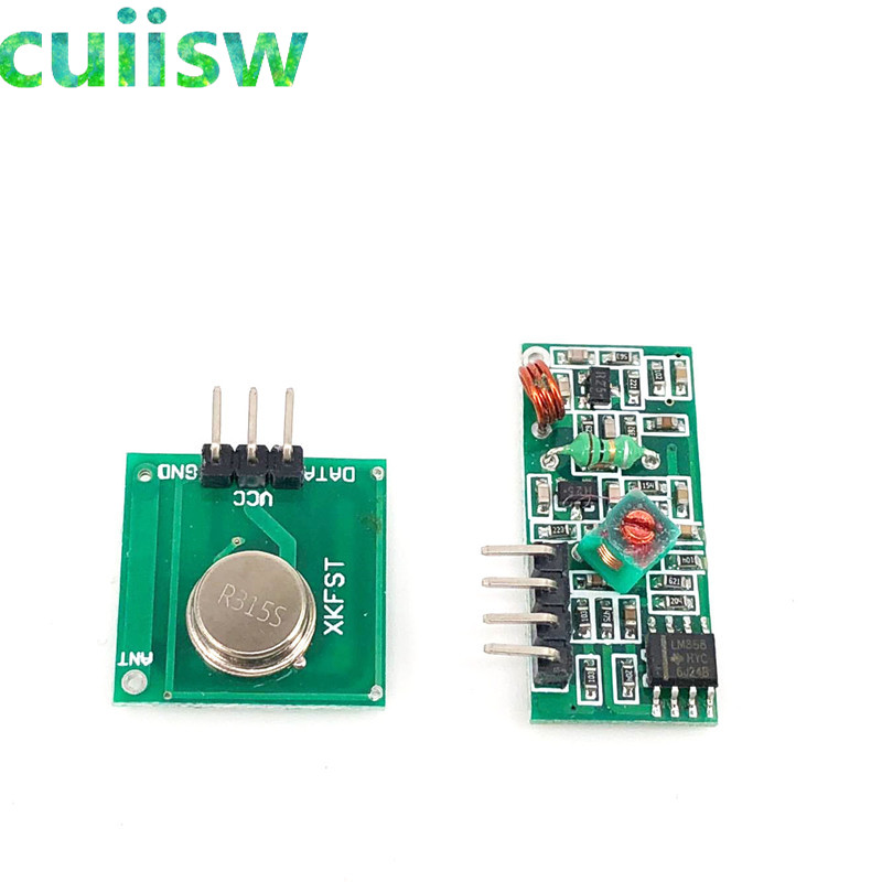 NEW 315Mhz RF transmitter and receiver link kit for Arduino//ARM//MCU WL