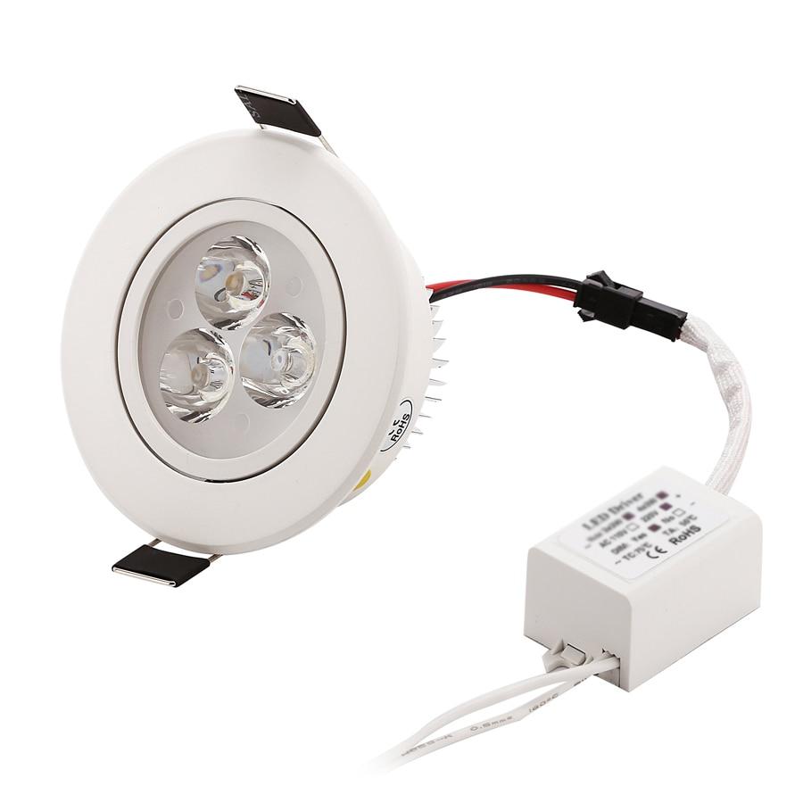 1 stks Dimbare LED Verzonken Downlight 1 W 3 W 5 W 7 W 90-770lm Cut - Binnenverlichting - Foto 3
