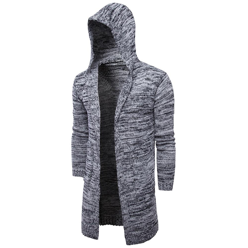 Online Shop New Arrival Men's Fashion Open Shawl solid color Thick ...