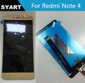 5.5 inch Gold Color New Hongmi Note 4 LCD Screen Display + Touch Digitizer LCD With Free Tools For Xiaomi Redmi Note 4