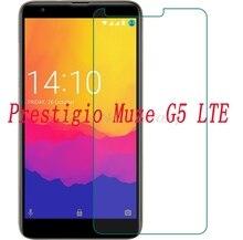 """スマートフォン 9 H 強化ガラス prestigio 週間ほどで発送 G5 LTE 5.2 """"ガラス保護フィルムスクリーンプロテクターカバー電話"""