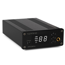 Topping TP32EX+ Digital Amp 75W*2 Coaxial USB Auto On/Off Function Power Amplifiers DAC Headphone Amplifier 24bit/192kHz CS4392