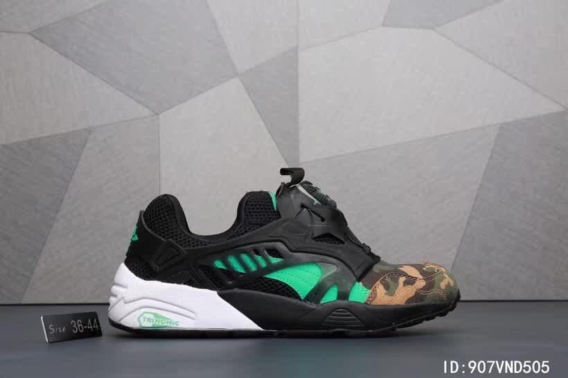 Original New Arrival PUMA Men's Ignite XT V2 Cross-Trainer camouflage Shoes Women's shoes Breathable Badminton Shoes Size 36-44