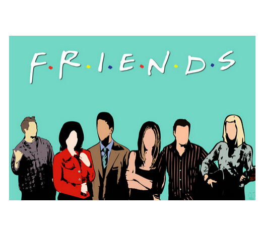 Classical Friends Series Wall Posters HD Large Modern
