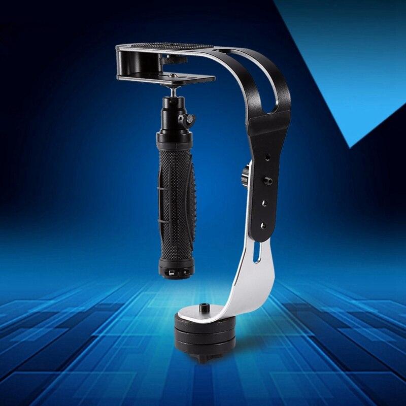 Pro câmera de vídeo estabilizador portátil constante universal para smartphone alumínio dv dslr slr cardan 2.1 lbs para feiyu/zhi yun