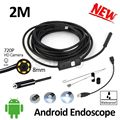 HD720P Android USB Endoscope 8mm 2MP Camera 2M IP67 Waterproof Flexible Snake Android PC Micro USB Borescope Inspection Camera