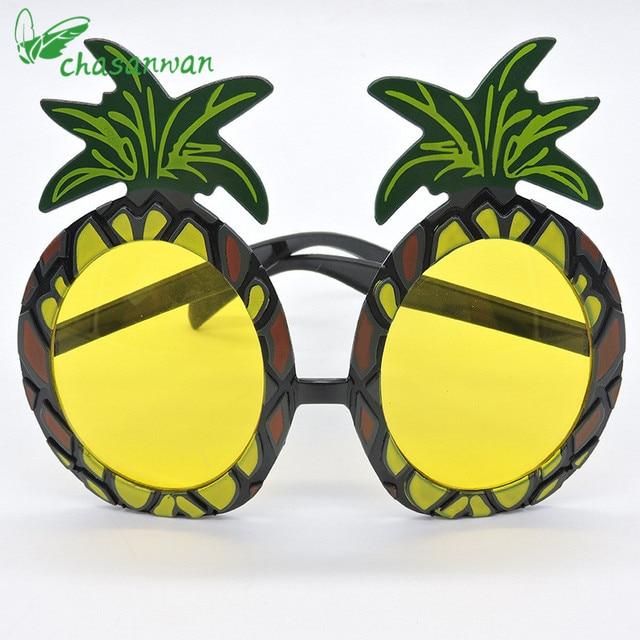 1 Pz Hawaii Beach Party Decoration Ananas Occhiali Da Sole Maschere Di  Addio Al Nubilato Addio