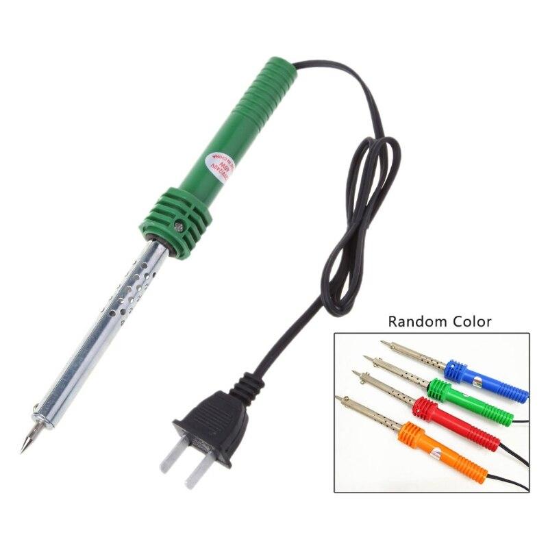 US Plug AC 220V-240V 40W Electric Pencil Welding Tip Soldering Iron Welding Pencil Pen External Heated Tool