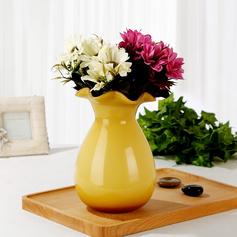 Aliexpress Buy Fashion Multicolour Glass Vase Decoration