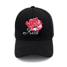 Rose Men Women Snapback Adjustable Baseball Cap Hip-Hop Hat Cool Bboy Lot d1a06bf749b7