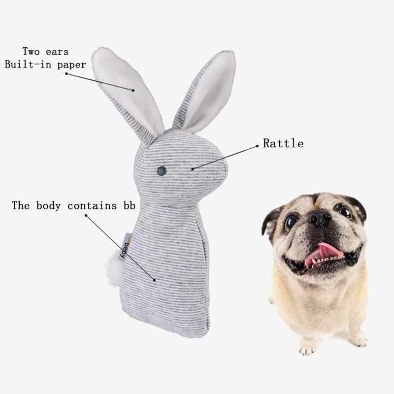 Игрушка со звуком, Имитация животных, супер мягкая текстильная игрушка для домашних животных