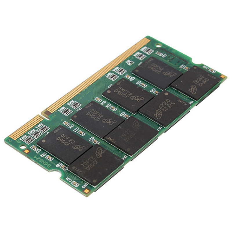 Brand New 1GB Memory RAM DDR 333MHz PC2700 Non-ECC 200 Pins DIMM RAM Laptop Computer PC Rams Chip System High Compatible