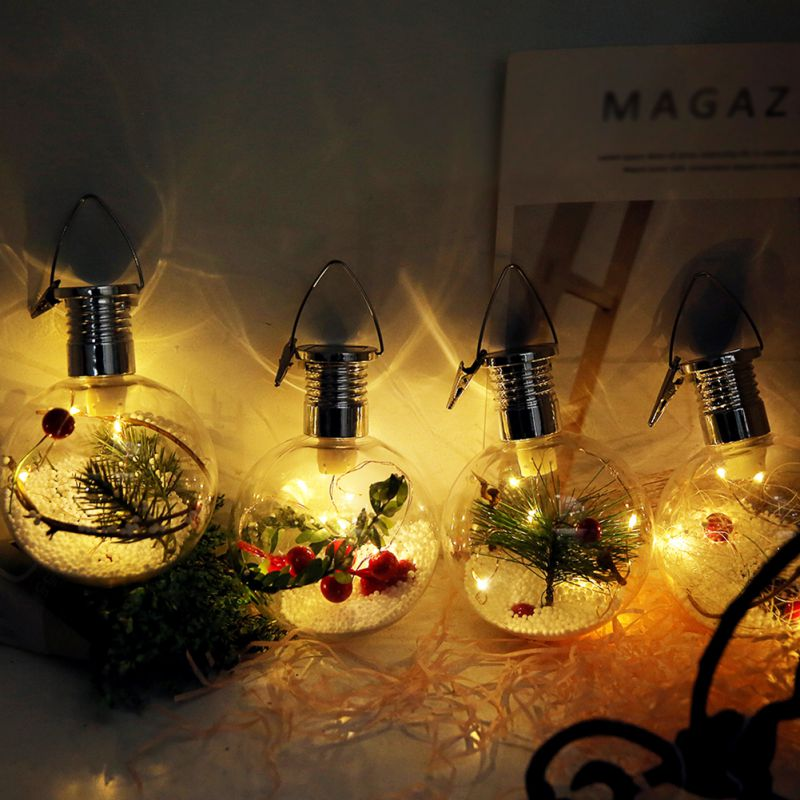hanging christmas decor solar light lamp tree holiday nordic wedding party energy decoration lights outdoor accessories bulb power garden xmas