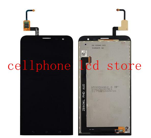6.0 Lcd Display+Touch Glass Digitizer Assembly For Asus Zenfone Laser Ze601kl replacement Palatalla free shipping