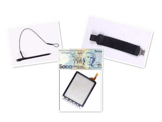 Compatible Stylus + Strap + digital touch screen for symbol MC9500 barcode scanner