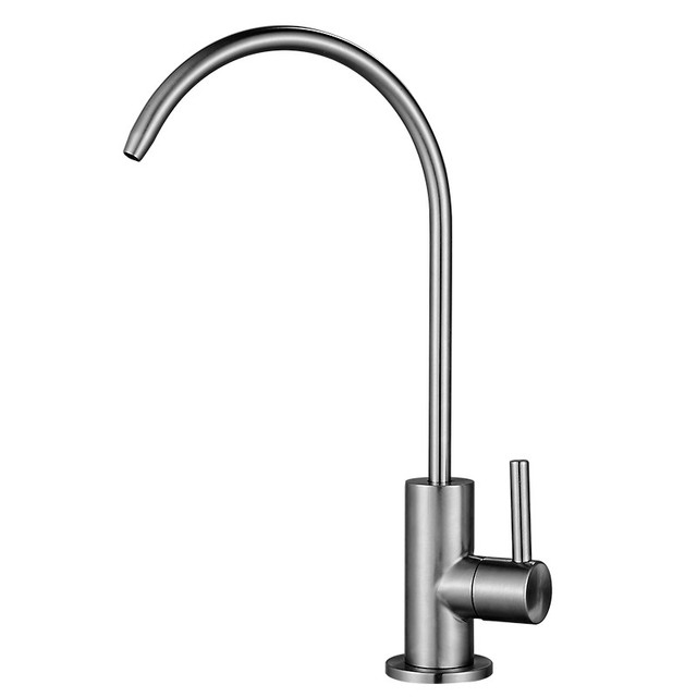 Lead free Drinking Water Filter System Faucet SUS304 Stainless Steel ...