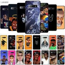 Lavaza Quando Rondo Rapper Bad Bunny Soft Phone Cover for Samsung Galaxy S8 S9 S10 Plus A6 A8 A9 2018 A30 A50 TPU Case