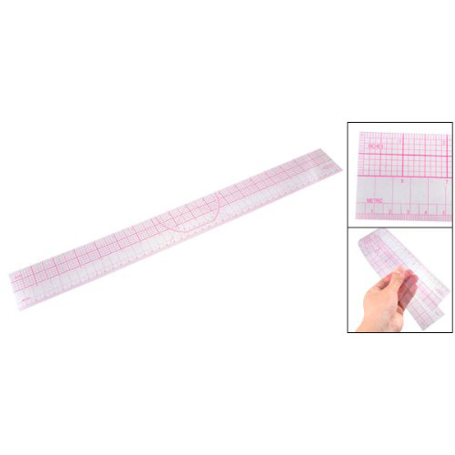 Drawing Tool Squares Angles Parallel Line Soft Plastic Metric Ruler