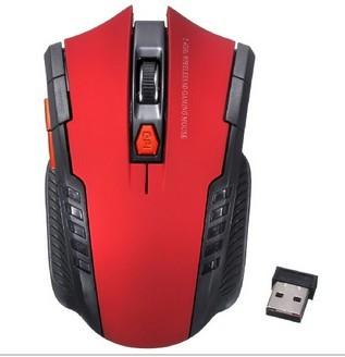 Ratón Inalámbrico con Receptor USB de 2,4 GHz
