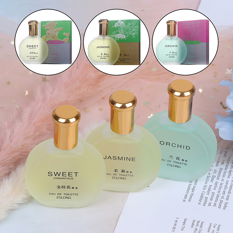 30ml Female Fragrant Spray Jasmine Floral Incense Osmanthus Orchid Fragrance Scent Fresh Air Aroma Long Lasting Fragrance