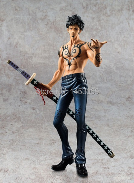 Anime One Piece POP Limited Edition Trafalgar Law Ver.2.5 1/8 PVC Action Figure Collectible Model Toy Doll 24CM neca planet of the apes gorilla soldier pvc action figure collectible toy 8 20cm