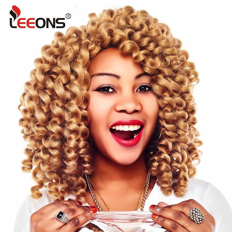 Leeons Short Wand Curl Crochet Hair Extension 8 Inch Jamaican Bounce  Crochet Hair 22 Strand Kanekalon 6cf1a27b33