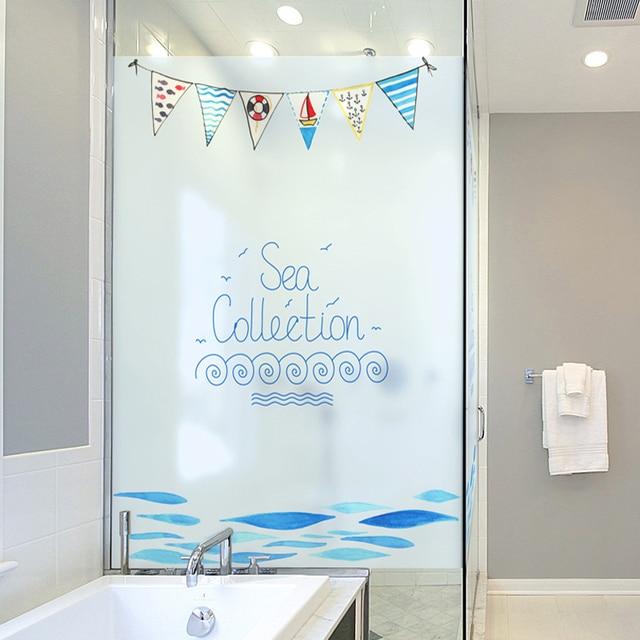 Office home matte elektrostatische glas folie decoratie badkamer ...