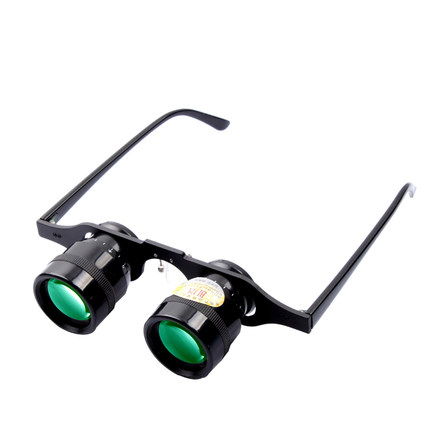 Glasses Phishing Telescope 10X Magnification 50-100m View phishing attacks and detection