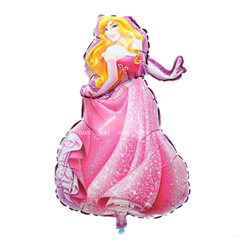 93-55cm-Large-Belle-Cinderella-Snow-White-Elsa-Princess-Foil-Balloons-Baby-Birthday-Party-Decoration-Helium