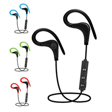 Cheap Price! Super Bass Stereo Sport Bluetooth Headphone Wireless Earphone Handsfree Headset With Microphone handsfree earbuds