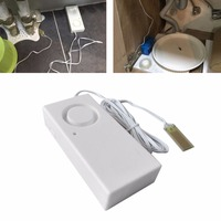 Water Leakage Alarm Detector 130dB Water Leak Sensor Detection Flood Alert Overflow Home Security Alarm System|Sensor & Detector| |  -